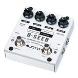 Pedal De Guitarra Joyo D-seed Dual Delay Nf + Garantia