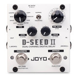 Pedal Joyo D-seed 2 Dual Channel Digital Delay Com Looper