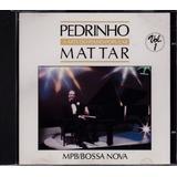 Pedrinho Mattar   Cd A Arte Do Piano Popular Vol 1  Seminovo
