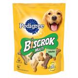 Petisco Para Cães Adultos Pedigree Biscrok Multi Pouch 1kg
