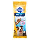Petisco Para Cães Adultos Raças Médias Pedigree Dentastix Pacote 77g 3 Unidades