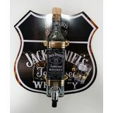 Pingometro Com Placa Rota 66 Jack Original Skol Duff Tequila