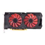 Placa De Vídeo Amd Xfx  Radeon Rx 500 Series Rx 570 Rx 570p4dfd6 Xxx Edition 4gb
