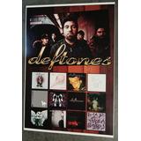 Poster De Coleção Deftones Banda Deftones Arte Cd Deftones
