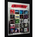 Poster Depeche Mode Discografia Cartaz Cd Depeche Mode