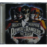 Power Rangers Mighty Morphin Cd Trilha Sonora Do Filme