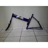 Quadro De Bicicleta Modelo Maria Mole Cor Violeta Aro 26