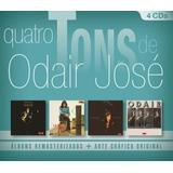 Quatro Tons De Odair José   Box Com 4 Cds