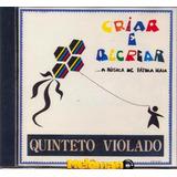 Quinteto Violado 1994 Criar E Recrear A Música De Fátima Cd