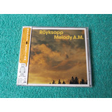 Röyksopp   Melody A m    Cd   2001   Japan   C  Obi