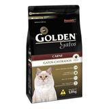 Ração Golden Castrados Premium Especial Gato Adulto Carne 1kg