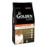 Ração Golden Castrados Premium Especial Gato Adulto Salmão 1kg