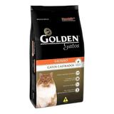 Ração Golden Castrados Premium Especial Gato Adulto Salmão 3kg