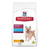 Ração Hill's Science Diet Manutenção Saudável Para Cachorro Adulto Da Raça Pequena Em Saco De 7.5kg