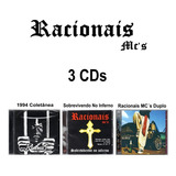 Racionais Mcs 3 Cd 1994   Sobrevivendo No Inferno   Cd Duplo