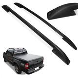 Rack Longarina Teto S10 Cd Dupla Até 2011 Aluminio Cor Preto