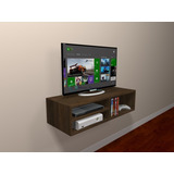 Rack Para Tv  Dvd  Blue Ray  Cd Mdf  Game Nicho Cores Mod