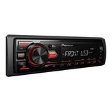 Radio Automotivo Pioneer Mvh 98ub Usb Auxiliar Frontal Rca