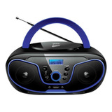 Rádio Bluelife Boombox Bluetooth 3 0 Usb Sd Aux Cd Leadershi