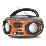 Radio Bomboox Mondial Bx18 Fm Cd Usb Bluetooth Fone   Bivolt