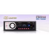Radio Cd Player Sd Card Usb 4 Saídas 60w H buster Hbd 7300mp