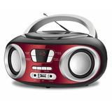Rádio Portátil Mondial Boom Box 6w Nbx 17 Vermelho   Bivolt