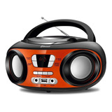 Rádio Portátil Mondial Up Bluetooth Cd Player Usb   Bx 18