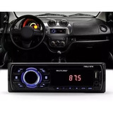 Rádio Som Mp3 Player Automotivo Multilaser New One P3318 1 Din Usb Sd