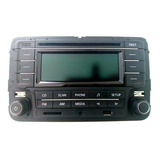 Rádio Vw Fox Original   Novo 5z0035160
