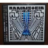 Rammstein Cd Paris   Com 6 Faixas Extras   Importado Duplo
