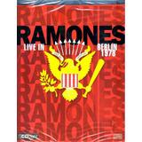 Ramones Live In Berlin 1978 Cd Light Original Novo Lacrado