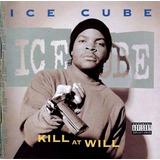 Rap Cd Ice Cube Kill At Will Funk Black Pop Hip Hop Importad