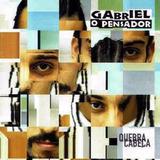 Rap Quebra Cabeça Cd Gabriel O Pensador Lacrado Hip Hop Mpb