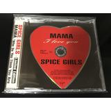 Rarissimo Cd Single Alemão Spice Girls Mama Heart Shaped
