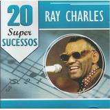 Ray Charles 20 Super Sucessos   Cd Blues