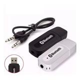 Receptor Bluetooth Usb Adaptador Musica P2 Cd Som E Carro
