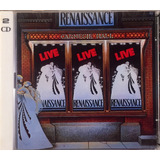 Renaissance   Live At The Carnegie Hall   2cds Germany Novo