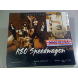 Reo Speedwagon Triple Feature Cd Lacrado  triplo  Usa Import