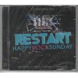 Restart   Cd Happy Rock Sunday   Ao Vivo   Lacrado