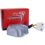 Retificador Bateria Regulador Voltagem Kasins Gf125 Servitec