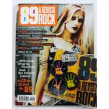 Revista 89 Rock 12 Anos Syang Bush Offspring Com Cd Incluso