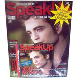 Revista Speak Up 273 = Robert Pattinson Lacrada Cd Original
