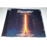 Rhapsody Of Fire   Legendary Years  cd Lacrado
