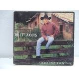 Rhett Akins   Cd Importado Impecável
