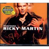 Ricky Martin Cd Single Private Emotion   Lacrado