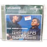 Rio Negro E Solimoes Suplemento 2003 Cd Original