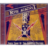 Rise Against 2004 Siren Song Of The Counter Culture Cd