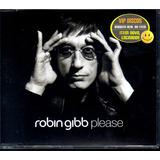 Robin Gibb Cd Single Please 3 Faixas   Lacrado