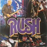 Rush Live   Cd Duplo Rock