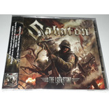 Sabaton   The Last Stand  cd dvd Lacrado